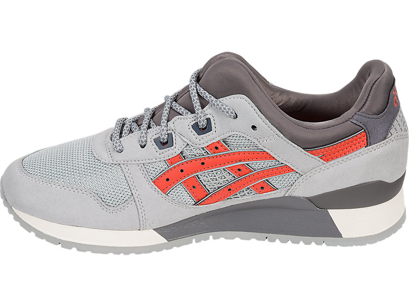 GEL-Lyte III LGT GREY/CHILI 9 FR