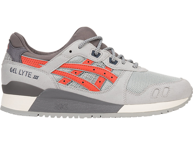 GEL-Lyte III LGT GREY/CHILI 1 RT
