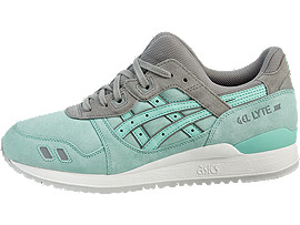 Left side view of GEL-LYTE III, LIGHT MINT/LIGHT MINT