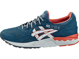 Left side view of GEL-LYTE V, Legion Blue/Soft Grey