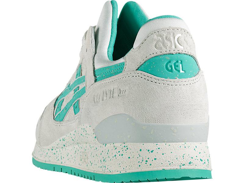 GEL-Lyte III Lily White/Aqua Green 17 BK