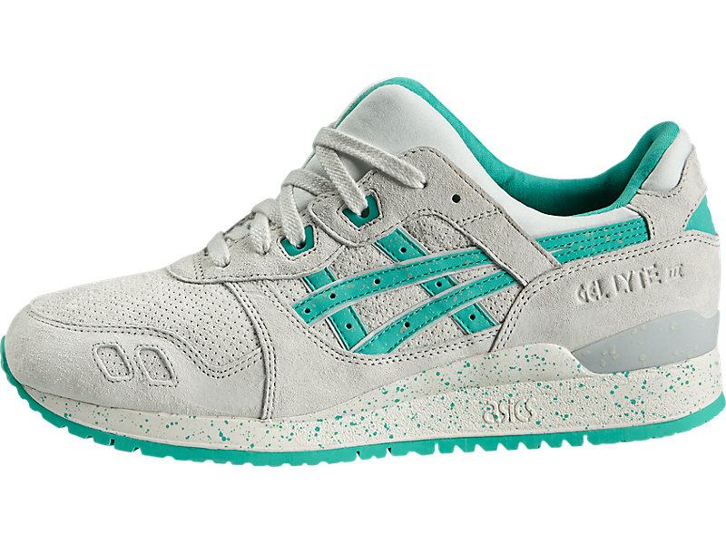 GEL-Lyte III Lily White/Aqua Green 1 RT