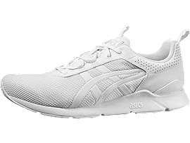 Right side view of GEL-LYTE RUNNER, WHITE/WHITE