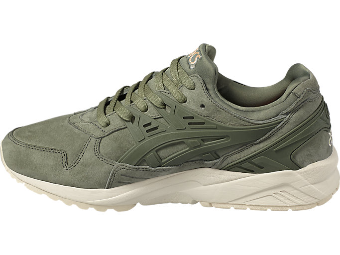 Left side view of GEL-KAYANO TRAINER, AGAVE GREEN/AGAVE GREEN