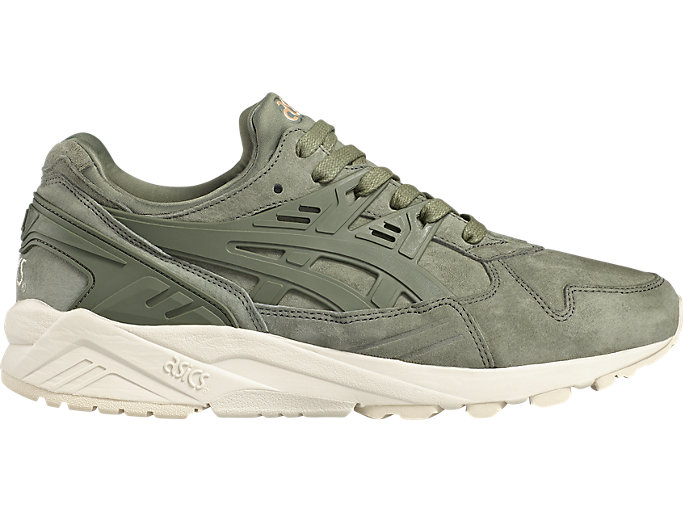 Right side view of GEL-KAYANO TRAINER, AGAVE GREEN/AGAVE GREEN