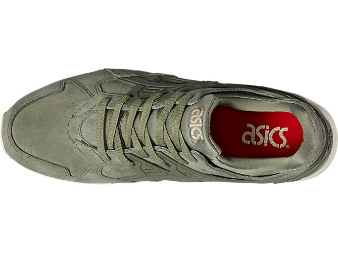 Top view of GEL-KAYANO TRAINER, AGAVE GREEN/AGAVE GREEN