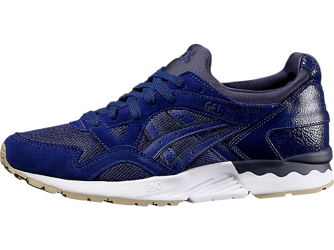 Front Right view of GEL-LYTE V, BLUE PRINT/BLUE PRINT