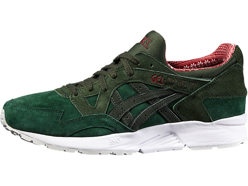GEL-LYTE V DARK GREEN/DUFFLE BAG 5 FR