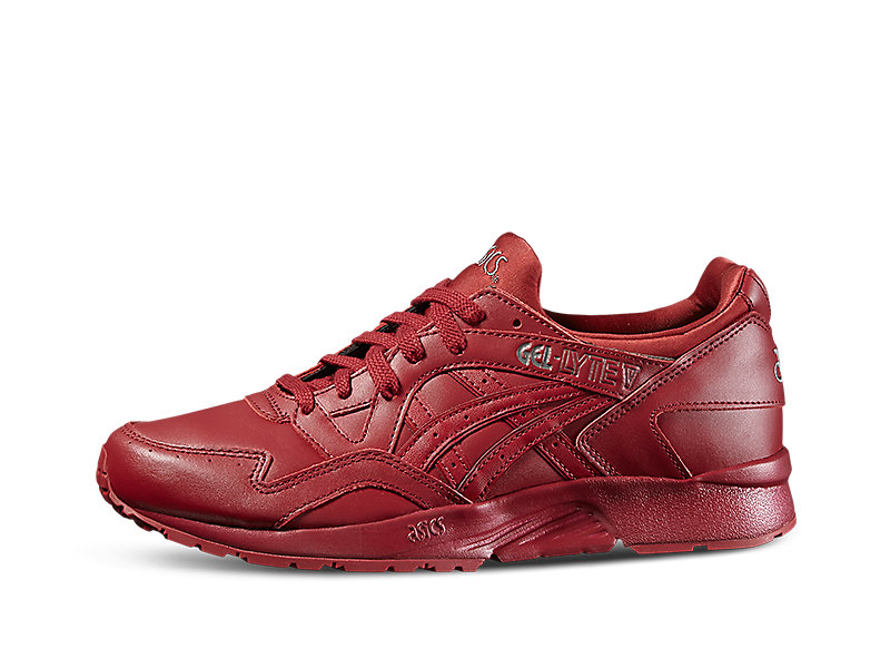 asics gel lyte v red yellow