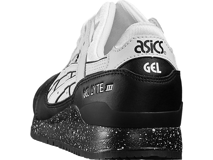Back view of GEL-LYTE III, WHITE/WHITE
