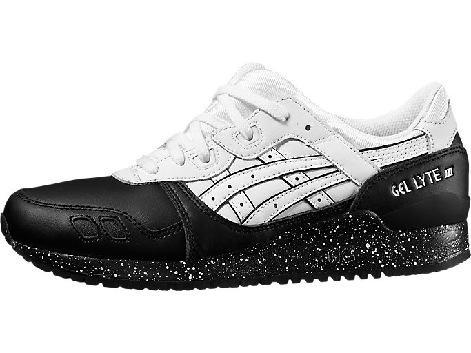 Front Right view of GEL-LYTE III, WHITE/WHITE
