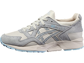 Front Right view of GEL-LYTE V, MOONBEAM/LIGHT GREY