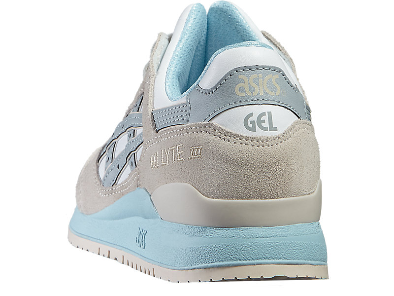 GEL-LYTE III WHITE/LIGHT GREY 13 BK