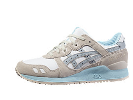 GEL-LYTE III, WHITE/LIGHT GREY
