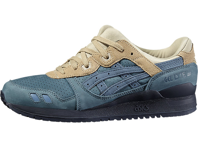 Front Right view of GEL-LYTE III, BLUE MIRAGE/BLUE MIRAGE