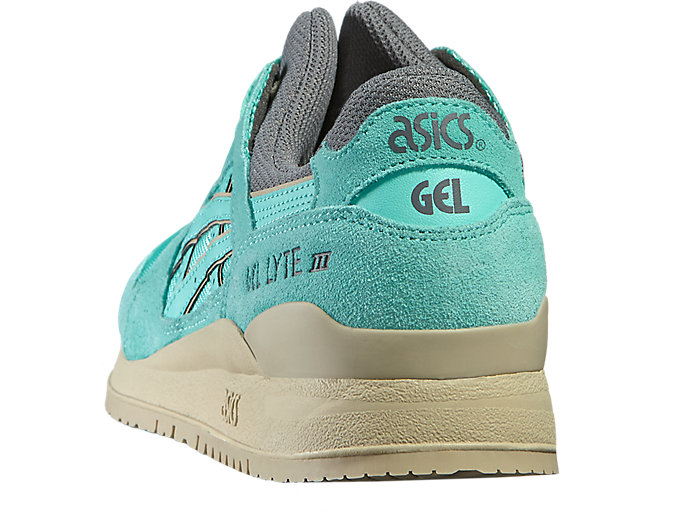 Back view of GEL-LYTE III, COCKATOO/COCKATOO