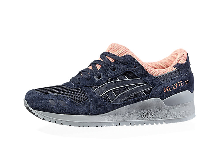 Front Right view of GEL-LYTE III, INDIA INK/INDIA INK