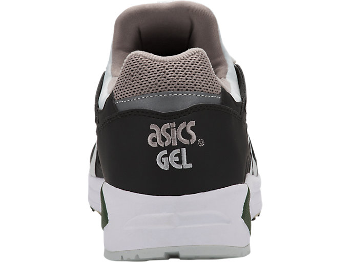 Back view of GEL-DS TRAINER OG, BLACK/GLACIER GREY