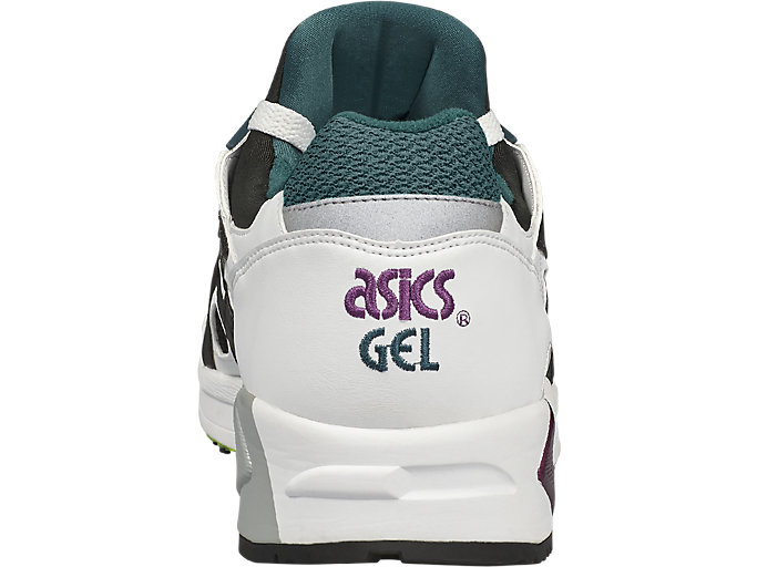 Back view of GEL-DS TRAINER OG, WHITE/BLACK