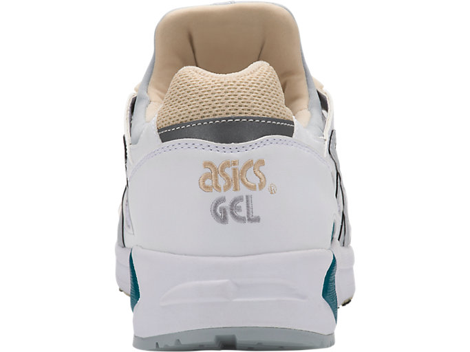 Back view of GEL-DS TRAINER OG, WHITE/MID GREY