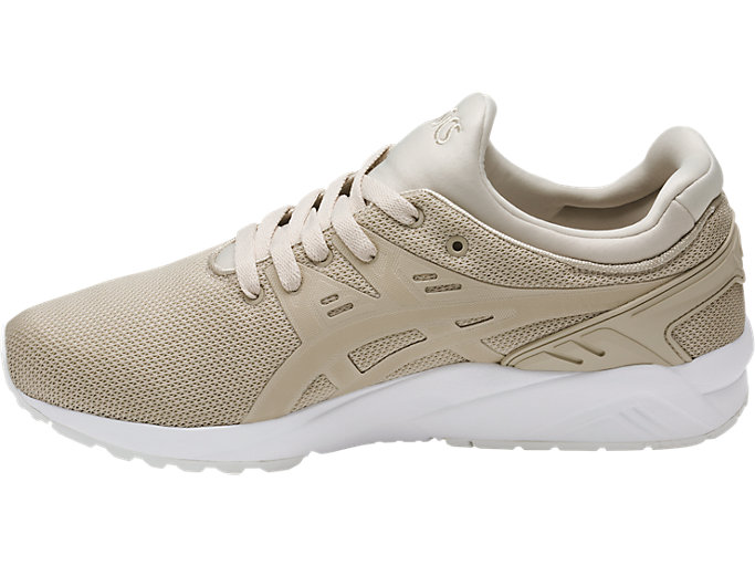 Left side view of GEL-KAYANO TRAINER EVO, FEATHER GREY/FEATHER GREY
