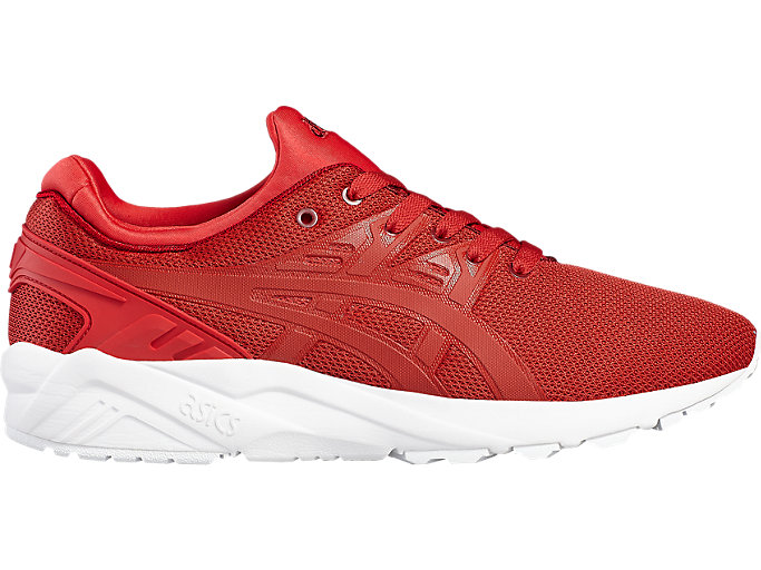 Right side view of GEL-KAYANO TRAINER EVO, TRUE RED/TRUE RED