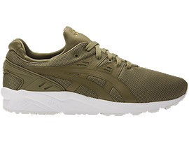 Right side view of GEL-KAYANO TRAINER EVO, MARTINI OLIVE/MARTINI OLIVE