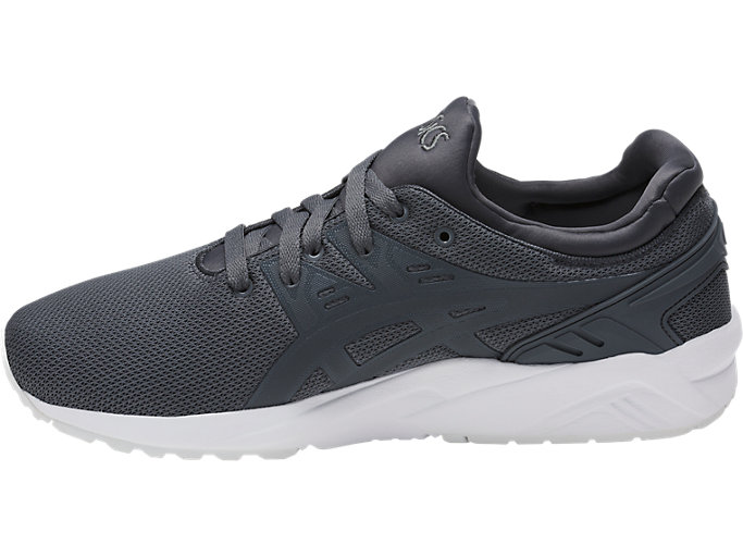 Left side view of GEL-KAYANO TRAINER EVO, CARBON/CARBON