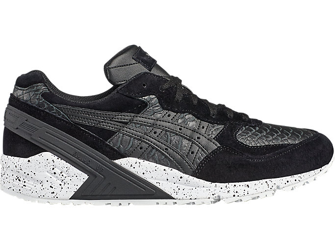 Right side view of Sneaker GEL-SIGHT unisexe, BLACK/BLACK