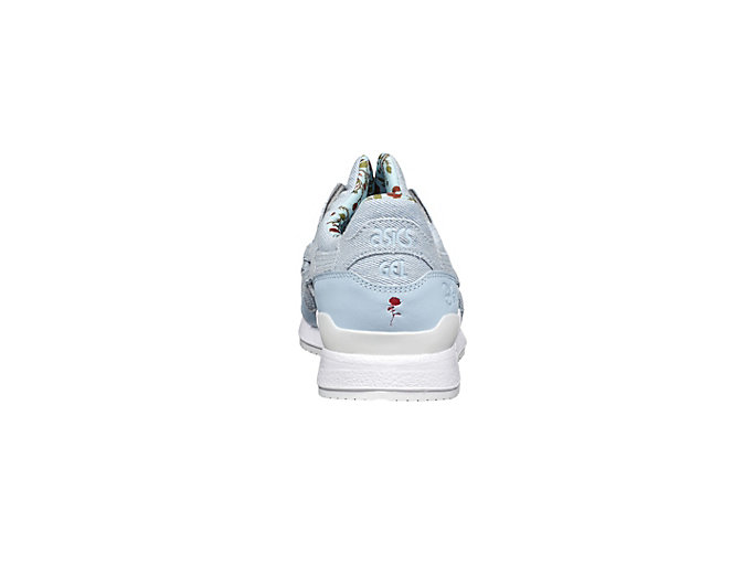 Back view of DISNEY GEL-LYTE III, CORYDALIS BLUE/CORYDALIS BLUE