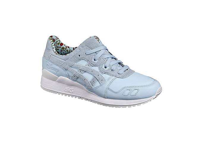 Front Right view of DISNEY GEL-LYTE III, CORYDALIS BLUE/CORYDALIS BLUE