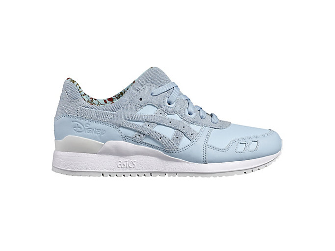 Right side view of DISNEY GEL-LYTE III, CORYDALIS BLUE/CORYDALIS BLUE