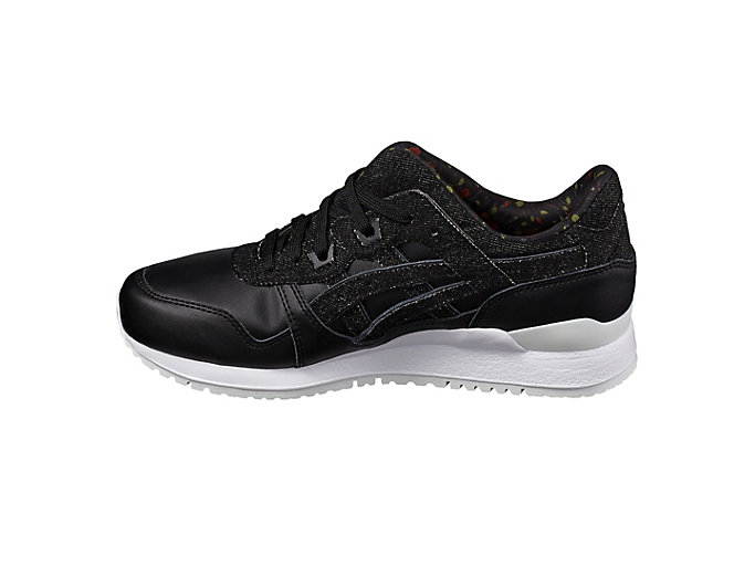 Left side view of DISNEY GEL-LYTE III, BLACK/BLACK