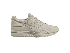 Right side view of DISNEY GEL-LYTE V, Whisper White/Whisper White