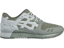 Right side view of GEL-LYTE III NS, Agave Green/Midgrey