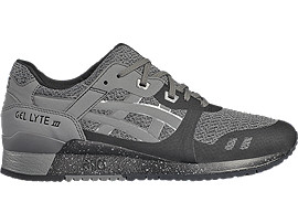 Right side view of GEL-LYTE III NS, Black/Carbon