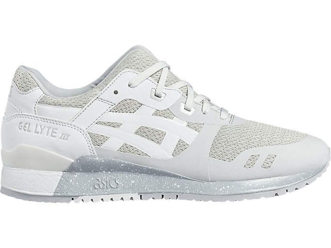 Right side view of GEL-LYTE III NS, GLACIER GREY/WHITE