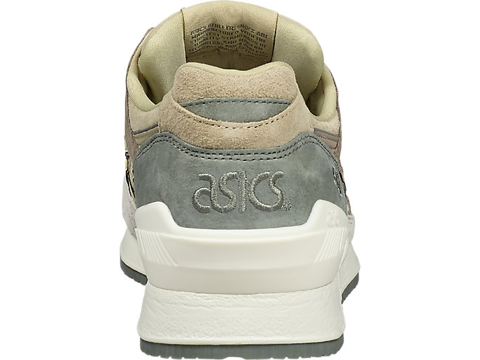Back view of GEL-RESPECTOR, TAUPE GREY/TAUPE GREY