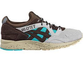 Right side view of GEL-LYTE V, VIRIDIAN GREEN/COFFEE