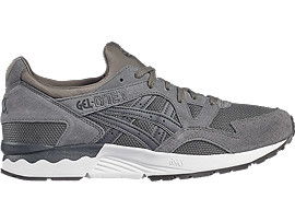 Right side view of GEL-LYTE V, CARBON/DARK GREY