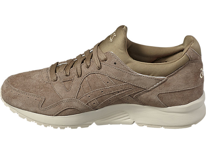 Left side view of GEL-LYTE V, TAUPE GREY /TAUPE GREY