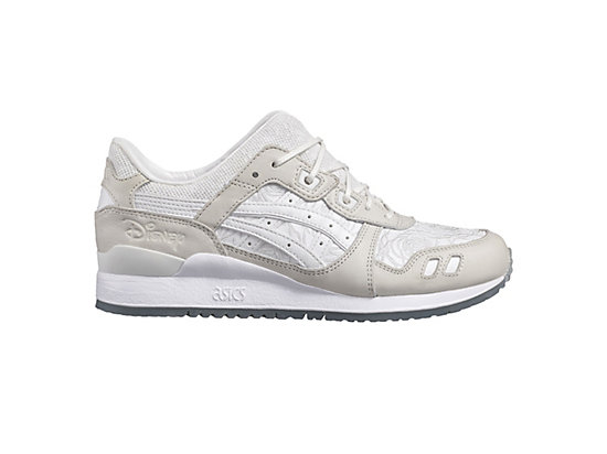 DISNEY GEL-LYTE III, White/White