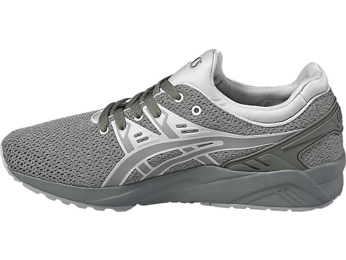 Left side view of GEL-KAYANO TRAINER EVO, AGAVE GREEN/AGAVE GREEN
