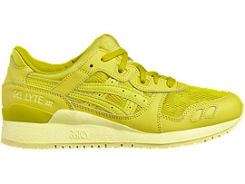 Right side view of GEL-LYTE III, CELERY/CELERY