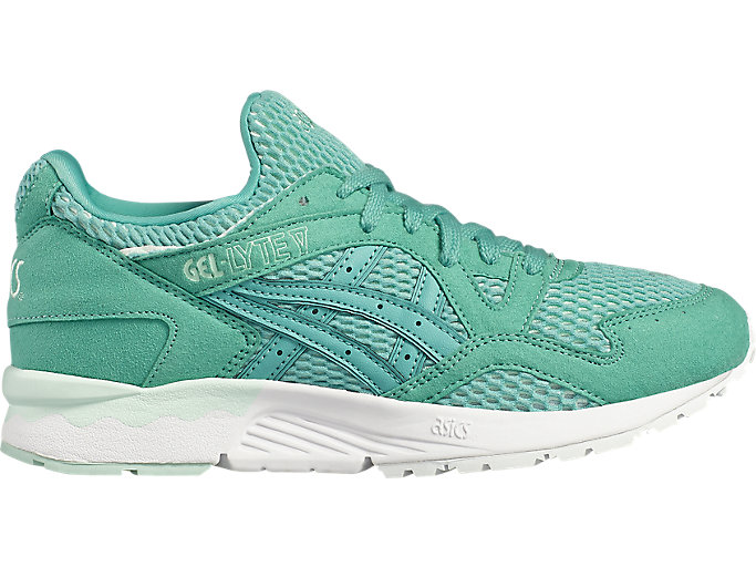 Right side view of GEL-LYTE V, AGATE GREEN/AGATE GREEN
