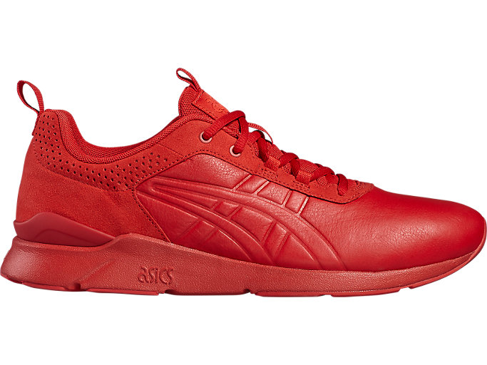 Right side view of GEL-LYTE RUNNER, TRUE RED/TRUE RED