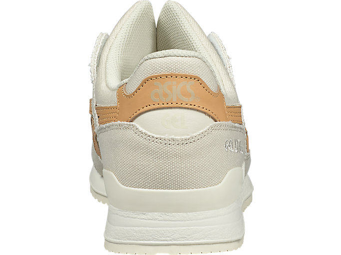 Back view of GEL-LYTE III, BIRCH/TAN