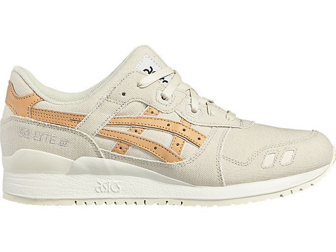 Right side view of GEL-LYTE III, BIRCH/TAN