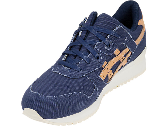 Front Left view of GEL-LYTE III, INDIGO BLUE/TAN