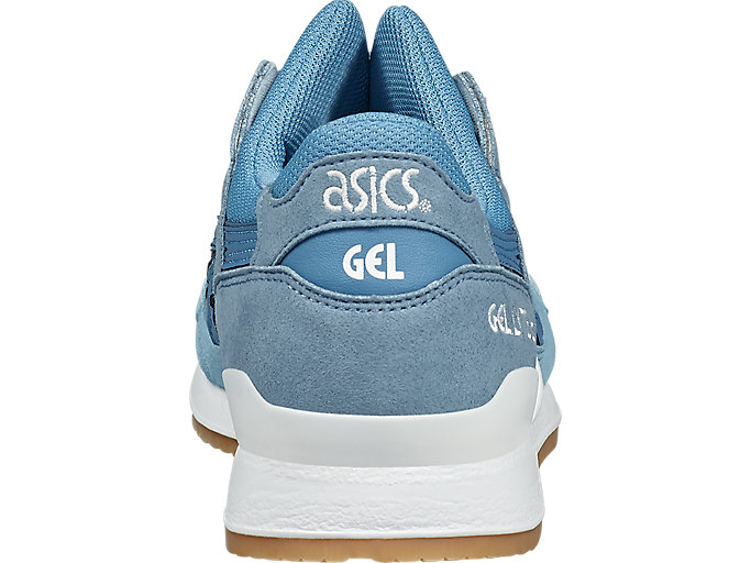 Back view of GEL-LYTE III, BLUE HEAVEN/CORYDALIS BLUE